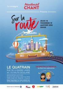 Affiche chorale Atoutbout'chant 2018