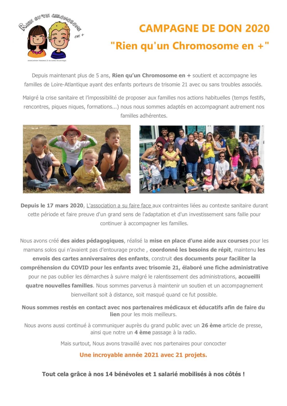 campagne de don 2020